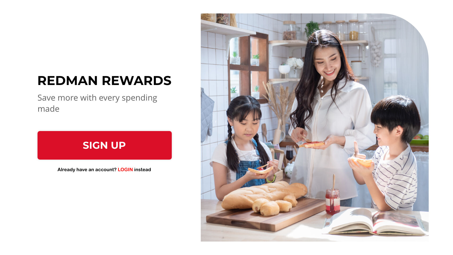 RedMan Rewards | Save more with every spending made